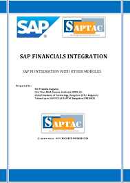 sap financials integration with mm sd u0026 co ecc6 0