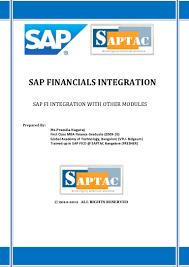 sap financials integration with mm sd u0026 co ecc6 0