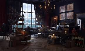 steampunk room design home design ideas