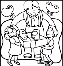 love dad father u0027s coloring pages kids cvq printable