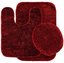 Red And Black Bathroom Accessories Sets Black And Red Bathroom Rugs Roselawnlutheran