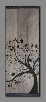tree wood wall дерево и образ дерева в интерьерах подборка для настроения