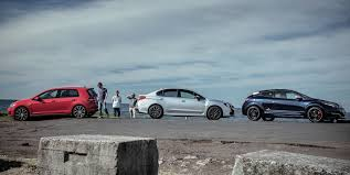 volkswagen wrx sports car comparison subaru wrx v volkswagen golf gti