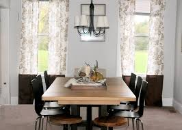 dining room curtain designs dining room curtain designs