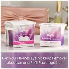 amazon com kleenex eye makeup removers refillable dispenser