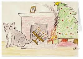 cat menorah cat christmas hanukkah gifts for cats cat mousebreath