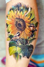 sunflower tattoos for ideas and inspiration for guys