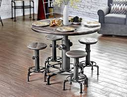 Industrial Bar Table Hydrant Industrial Pub Table Set