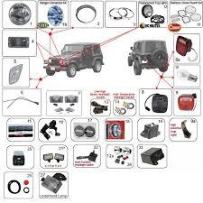 97 jeep wrangler parts jeep wrangler lights tj lights 97 06 morris 4x4 center