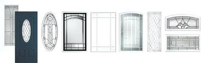 Glass Inserts For Exterior Doors Glass Inserts Front Doors Door Inserts Glass Entry Door Glass