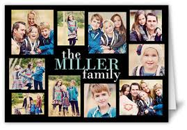 modern family collage 5x7 greeting card thank you cards shutterfly