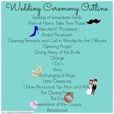 exle of wedding program wedding ceremony timeline of events wedding ideas 2018