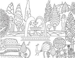 coloring pages elephant victorian garden