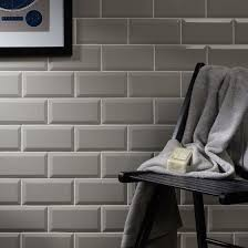 light grey brick tiles metro light grey wall tile 10x20cm tile trader