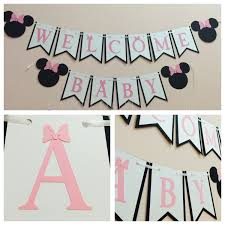 best 25 banner design ideas exquisite decoration minnie mouse baby shower banner inspiring