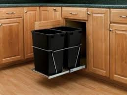 kitchen trash can ideas peachy kitchen trash can cabinet cans in roselawnlutheran