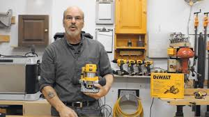 dewalt dwp611pk router combo kit youtube