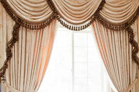 Curtain Draping Ideas Curtains Outstanding Valance Curtain For Home Waverly Curtain