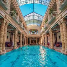 Bad Budapest Gellert Thermal Baths In Budapest Popsugar Smart Living
