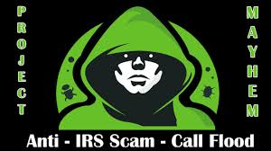 revenge on a irs phone scamming company call flooder youtube