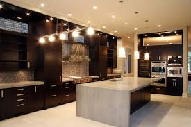 marvelous italian kitchen design inspiration with dark brown color