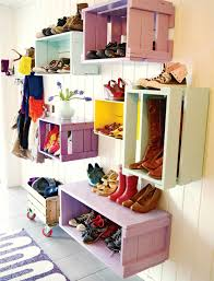 25 tips to declutter your home shoe rack storage ideas and foyers