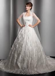 duchesse linie wellenkante kapelle schleppe spitze tull brautkleid mit perlen verziert ruschen kristalldetaillierung p703 brautkleider brautkleider 2017 page 32 dressfirst