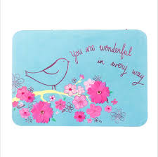 Mother Day Card by Bright Bird With Pink Vellum Flowers Mother U0027s Day Card Ana U0027s