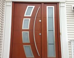 Exterior Door Window Inserts Appealing Front Door Glass Insert Kit Contemporary Ideas House