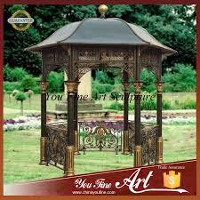 giardini con gazebo stile antico da giardino in ferro battuto gazebo con tetto in