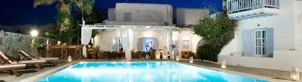 hotel in mykonos 4 star luxury hotel in ornos beach