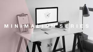 quick ways to organise your desk or workspace minimalism series