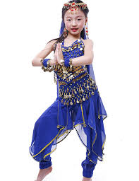 belly dancer costumes for halloween amazon com astage girls halloween costume oriental belly dance