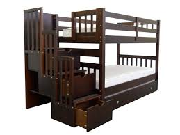bunk beds with stairs for your kids to feel safer in many