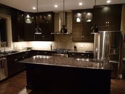 Kitchen Cabinets Backsplash Ideas Tile Backsplash Ideas With Dark Cabinets Dark Birch Kitchen