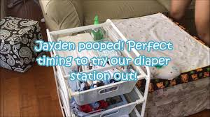 Changing Table Organizer Ideas Diy Station Organization Without Using A Changing Table