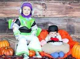 buzz lightyear and mr potato head matching sibling costumes for