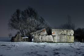 abandoned world war ii bunkers provide a haunting look into the