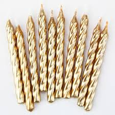 gold birthday candles gold twist birthday candles cake shop birthdays and birthday