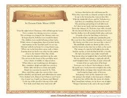 the night before christmas poem printable u2013 halloween wizard