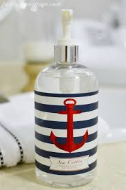 themed soap dispenser nautical soap dispenser nautical soap dispenser for a nautically