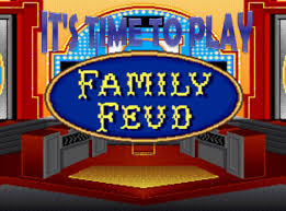 Family Feud Name Tag Template Family Feud Powerpoint Template Free Reboc Info