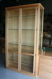 The Most Elegant Display Cabinet Glass Doors Cabinets About Curio