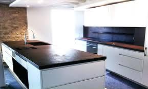 cuisine bois et blanc laqué beautiful cuisine noir et blanc et bois pictures design trends
