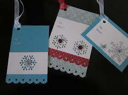 handmade christmas gift tags lori u0027s favorite things