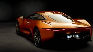 orange cars 007 spectre bond cars jaguar cx 75 orange 16