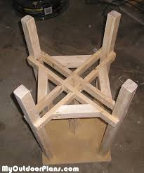 Game Table Plans Diy Game Table Stools Myoutdoorplans Free Woodworking Plans