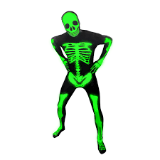 glow skeleton morphsuit morph costumes us