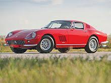 all the ferraris list of road cars