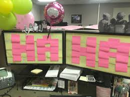 office cubicle birthday surprise surprise party themes
